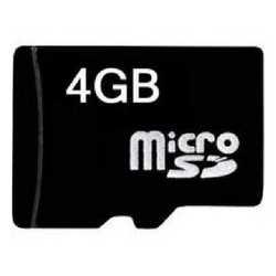 Micro Sd memoria da 4 GB
