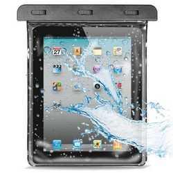 Custodia impermeabile per iPad, iPad2 e tablet di simili dimensi