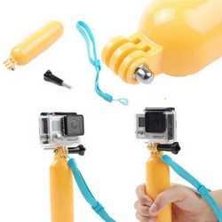Maniglia galleggiante float supporto + laccetto + viti per GoPro