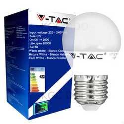 Lampada V-TAC LED E27 da 6W mini globo
