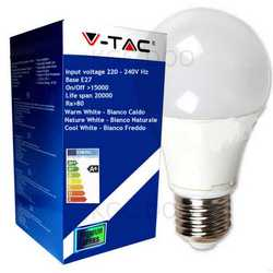 Lampada V-TAC LED E27 da 15W lampada sfera