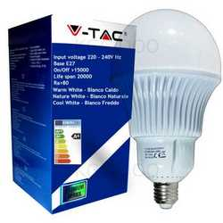 Lampada V-TAC LED E27 da 30W A120