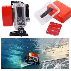 Spugnetta galleggiante floaty + adesivo 3M per GoPro Hero 2 3 3+