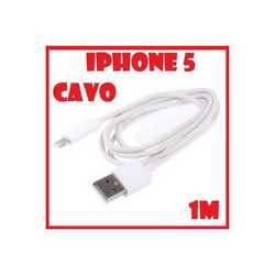 Cavo dati per iPhone 5 da 1 mt