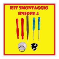 Kit smontaggio apri scocca per iPhone 3G, 3GS e 4, ventosa + tor