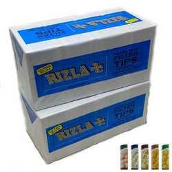 Rizla filtri ultra slim da 5,7mm in confezione da due box