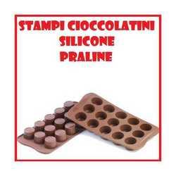 Stampo in silicone forma di praline per biscotti e cioccolatini