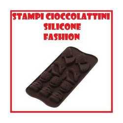 Stampo in silicone forme fashion per biscotti e cioccolatini