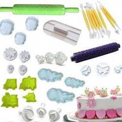Cake design stampi ad espulsione e accessori