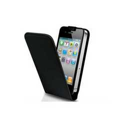 Cover custodia per iPhone 4/4S in eco pelle