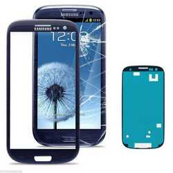 Vetro touch screen per display Samsung Galaxy S3 i9300 con biade