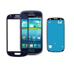 Vetro touch screen per display Samsung Galaxy S3 mini i8190 con