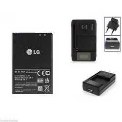 Batteria originale + caricabatterie rete per LG P700 OPTIMUS L7