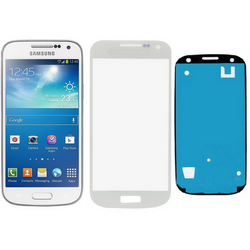 Vetro touch screen + biadesivo per display Samsung Galaxy S4 MIN