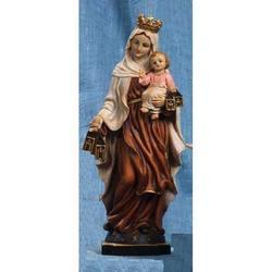 Madonna del Carmine cm 51 in resina