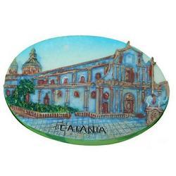 Magnete in resina cm 7 Duomo di Catania