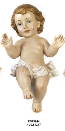 Statua Bambinello cm 30.5 in resina