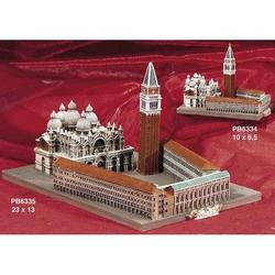 Piazza San Marco cm 10x6.5 in resina