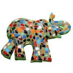 Magnete Mosaico Elefante Cm 5