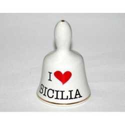 Campanella I Love Sicilia Cm 4