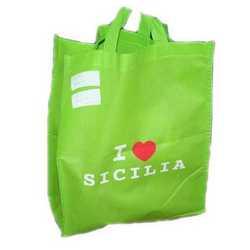 Borsa Shopping I Love Sicilia Cm 30x37x12