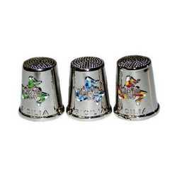 Ditale Metallo Trinacria Mosaico Cm 4
