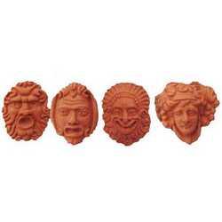 Maschere Mignon Terracotta Cm 5