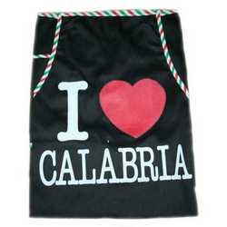 Grembule Ricamo Cartina Calabria