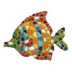 Magnete Pesce Mosaico Cm 6