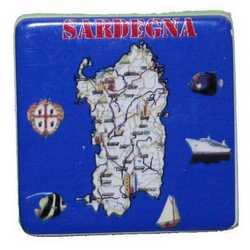 Magnete Mattoncino Ceramica Sardegna Cm 5
