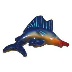 Pesce Marlin Terracotta Cm 9x5