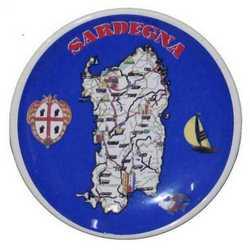 Magnete Piattino Sardegna