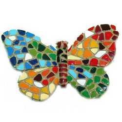 Magnete Mosaico Farfalla Cm 5