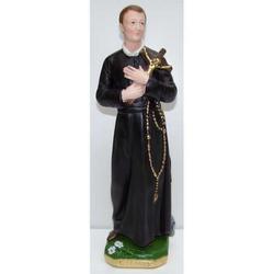 Statua San Gerardo in gesso cm 30