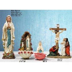Statua Madonna di Lourdes cm 29.5 in resina