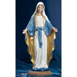 Statua Madonna Immacolata Miracolosa cm 40 in Porcellana