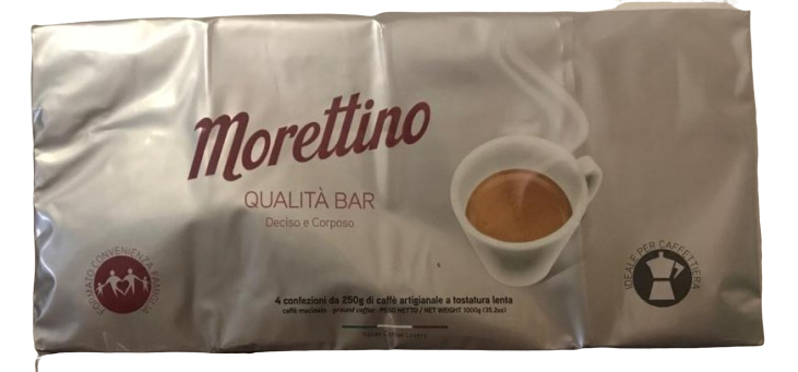 Caffe' Morettino qualita' Bar da 1 kg