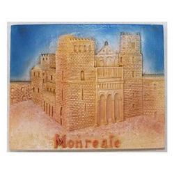 Souvenir Monreale con calamita