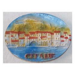 Souvenir Cefalu ovale calamite