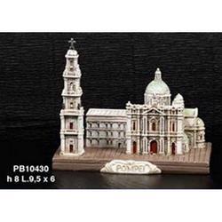 Basilica di Pompei in resina cm9 in resina