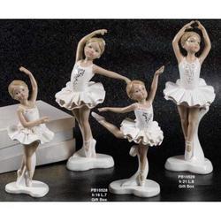 Bomboniere Ballerina cm 16 in resina Set da 2 pezzi assortiti