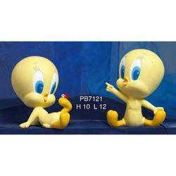 Bomboniere Baby Titti cm 10 in resina Set da 2 pezzi