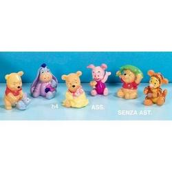 Bomboniera Winnie Pooh con amici cm 4 in resina Set 6 pz ass