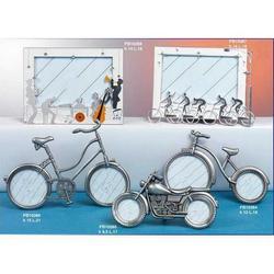 Bomboniere Bicicletta Portafoto cm 15x21 in metallo
