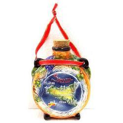 Borraccia Sicilia in ceramica cm 10