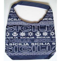 Borsa in tessuto Sicilia cm 46x33
