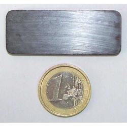 Calamite Piastra in ferrite mm 50x20x5