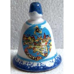 Campana Sicilia in ceramica cm 6x4.5