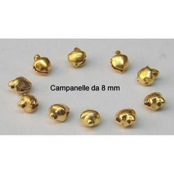Set da 8 Campanelline in metallo mm 8