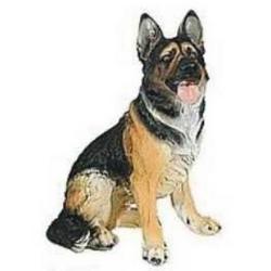 Statua cane pastore tedesco in vetroresina da cm 38 for Arredamento pastore